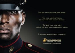 USMC Ad: The Few The Proud The Marines